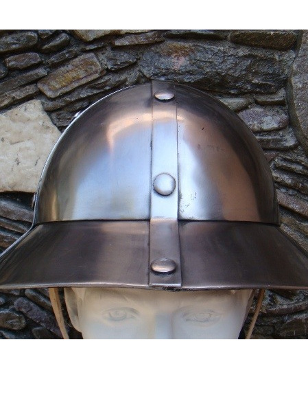 Helmet 11 - 13th to 15th Century Kettle Hat with Round Top