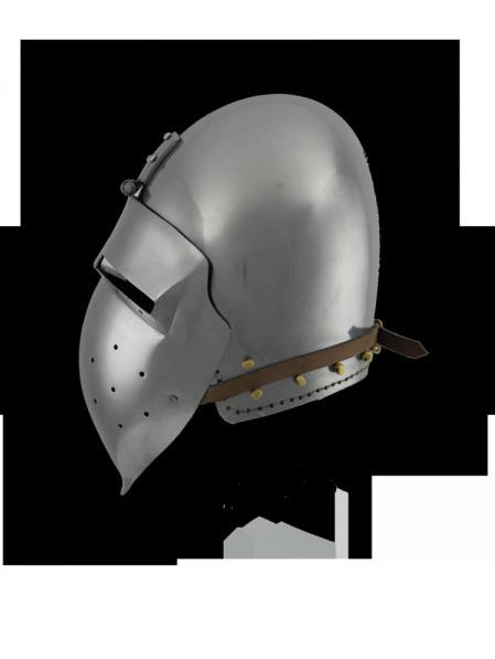 Helmet 15 - 14th Century Bascinet with 'Klapvisor'style Visor