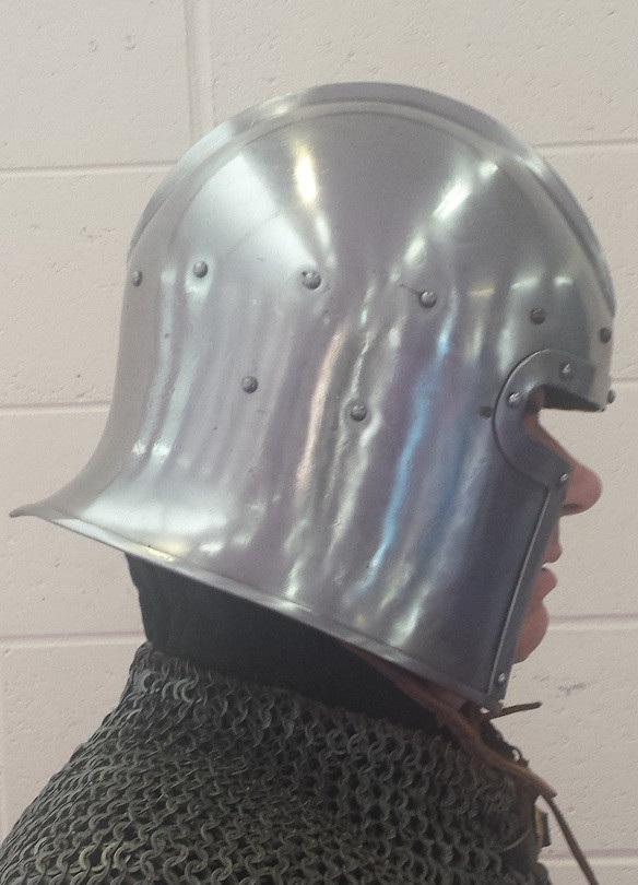 Helmet 18 - 15th Century Barbute Helmet