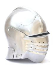 "Helmet 24 - Maximilian Style ""Bellows Face"" Sallet"