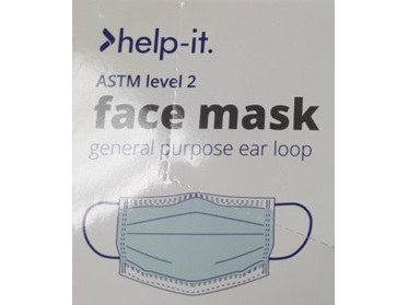 Help-It Face Mask 5Pack