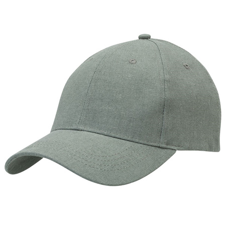 Hemp Cap Charcoal-Khaki