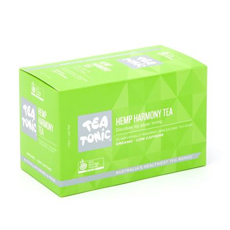 HEMP HARMONY TEA 20 BAGS