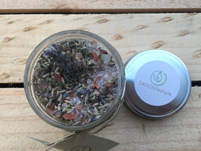 herbal aromatics bath salts