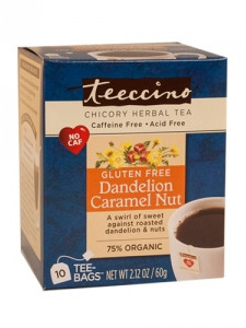 Herbal Coffee Dandelion Caramel Nut - 10 Tee Bags