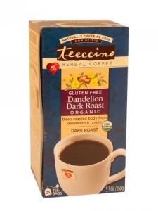 Herbal Coffee Dandelion Dark Roast - 25 Tee Bags