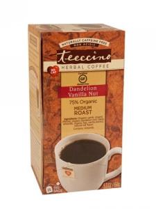 Herbal Coffee Dandelion Vanilla Nut - 25 Tee Bags
