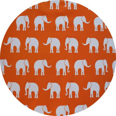 """Herd"", Orange, 100% Cotton"