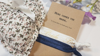 Here comes the bride - to have and to hold your hair