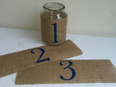 Hessian number wraps