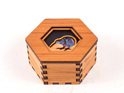 hex box with paua - kiwi