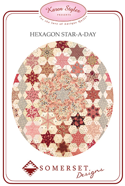 Hexagon Star A Day by Karen Styles (Pattern + Acrylic Templates)