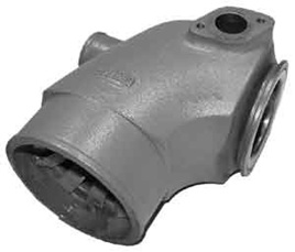 HGE1289 Exhaust Elbow fits Volvo 31, 41, 42, 43, 44 and 300 series