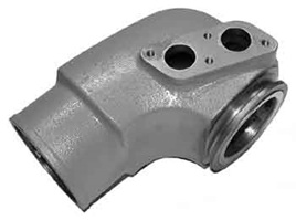 HGE9963 Exhaust Elbow fits Volvo 31, 41 series.