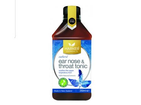 HHP Ear Nose & Throat Tonic 250ml