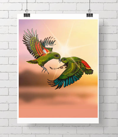 Hi there!   Limited edition print