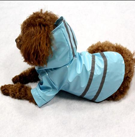 Hi-Vis Raincoat - Blue