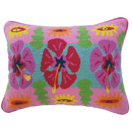 Hibiscus Stripe Cushion Kit by Jennifer Pudney