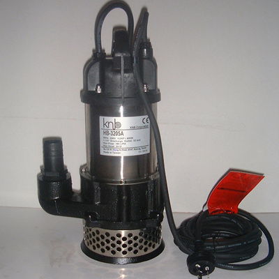 high pressure pump with float