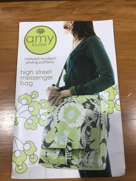 High Street Messenger Bag Pattern