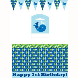 Highchair kit - 1st birthday
