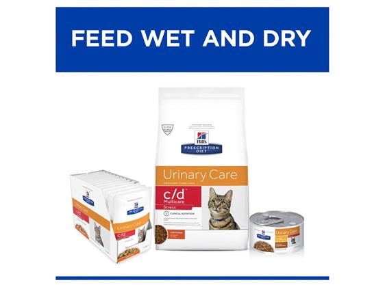 Hill's Prescription Diet c/d Multicare Stress Urinary Care Dry Cat Food