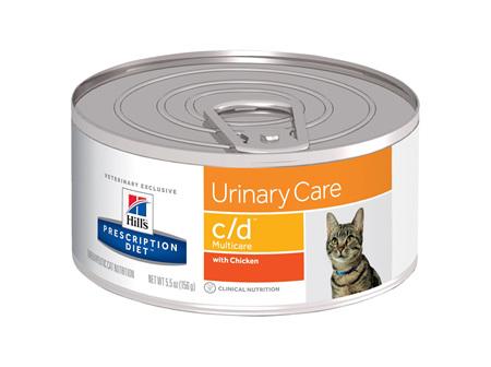 Hill's Prescription Diet c/d Multicare Urinary Care Canned Cat Food
