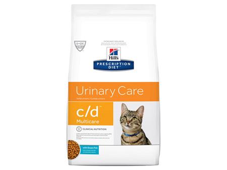 Hill's Prescription Diet c/d Multicare Urinary Care Ocean Fish Dry Cat Food