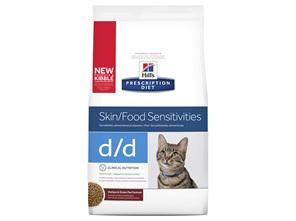 Hill's Prescription Diet d/d Skin/ Food Sensitivities Dry Cat Food