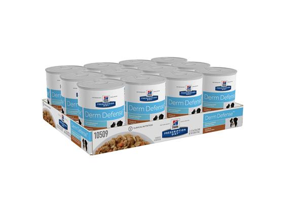 Hill's Prescription Diet Derm Defense Chicken and Vegetable Stew Canned Dog Food