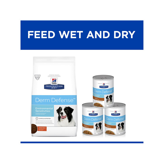 Hill's Prescription Diet Derm Defense Dry Dog food