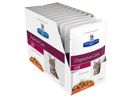 Hill's Prescription Diet i/d Digestive Care Chicken Cat food pouches