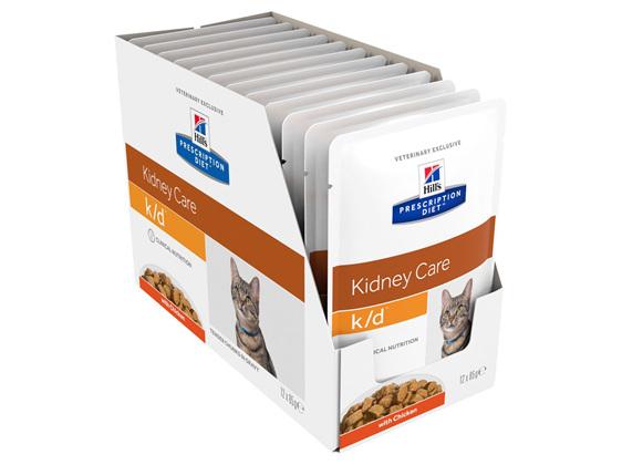 Hill's Prescription Diet k/d Kidney Care Chicken Cat food pouches