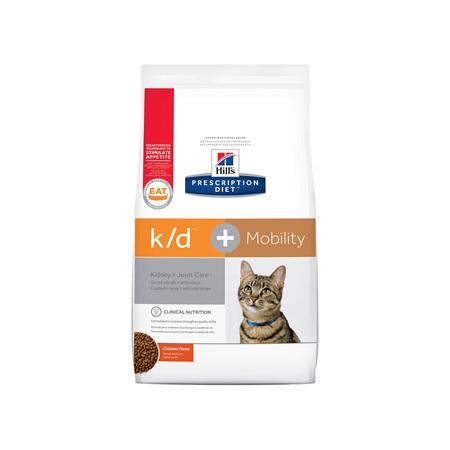 Hill's Prescription Diet k/d Kidney Care + Mobility Dry Cat Food