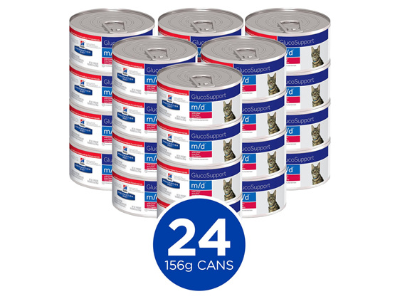 Hill's Prescription Diet m/d GlucoSupport Canned Cat Food