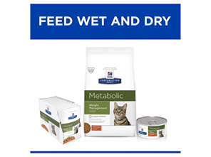 Hill's Prescription Diet Metabolic Weight Management Dry Cat Food