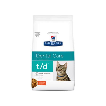 Hill's Prescription Diet t/d Dental Care Dry Cat Food