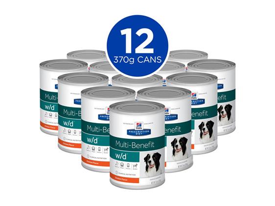 Hill's Prescription Diet w/d Multi-Benefit Canned Dog Food