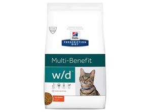 Hill's Prescription Diet w/d Multi-Benefit Dry Cat Food
