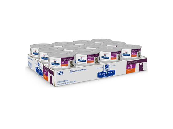 Hill's Prescription Diet y/d Thyroid Care Canned Cat Food