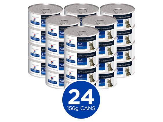 Hill's Prescription Diet z/d Skin/Food Sensitivities Canned Cat Food