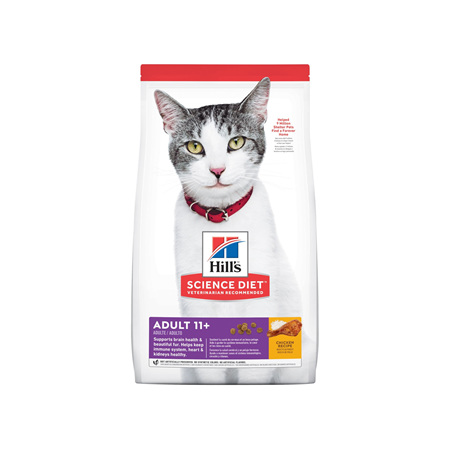 Hill's Science Diet Adult 11+ Senior Dry Cat Food
