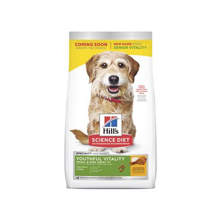 Hill's Science Diet Adult 7+ Senior Vitality Small & Mini Senior Dry Dog Food