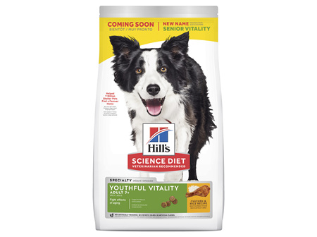 Hill's Science Diet Adult 7+ Youthful Vitality Senior Dry Dog Food