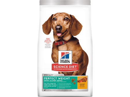 Hill's Science Diet Adult Perfect Weight Small & Mini Dry Dog Food