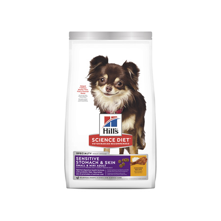 Hill's Science Diet Adult Sensitive Stomach & Skin Small & Mini Dry Dog Food