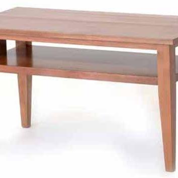 Hilton Coffee Table - Open Rails