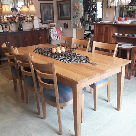 Hilton Dining Table Oak