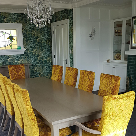 Hilton Dining Table - Special Grey Wash