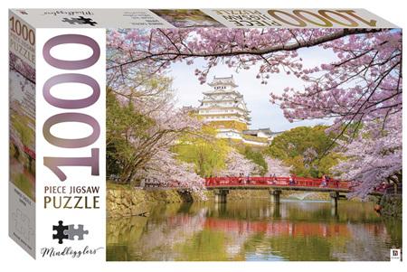 Hinkler 1000 Piece jIgsaw Puzzle:  Himeji Castle, Japan